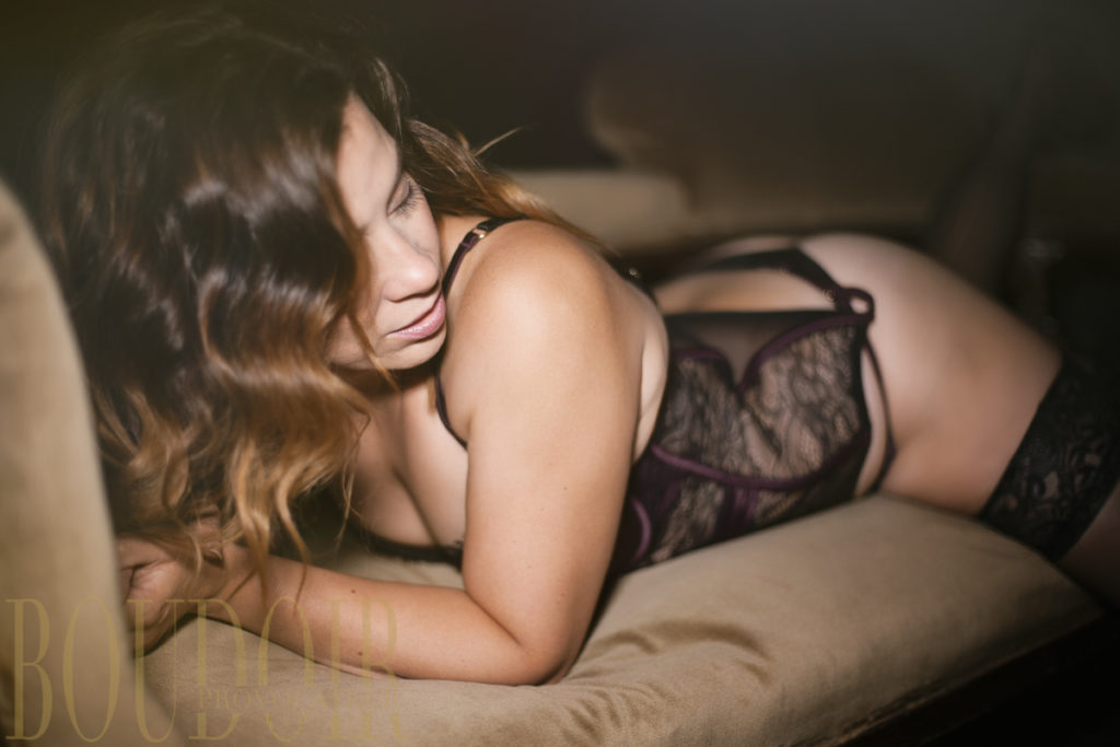 Photo from boudoir photo shoot in surrey
